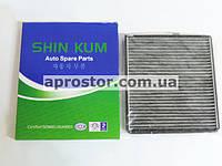 Фильтр салона Авео (SHIN KUM) Корея угольный 96539649