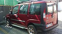 Fiat Doblo Боковые площадки Х5-тип на макси базу