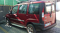 Fiat Doblo Боковые площадки Х5-тип на стандартную базу