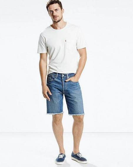 Джинсовые шорты Levis 501® CT Shorts - Salt Fade