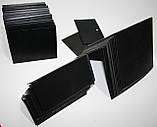 Ценник меловой 5х5 см. L-образный для надписей мелом и маркером. Настольный грифельный ценник, фото 5