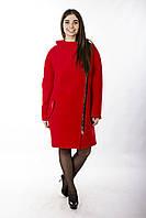 Женское Пальто П-031 Красный, фото 1