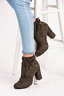 Ботинки цвета  хаки NIO NIO  с шнурком , фото 1