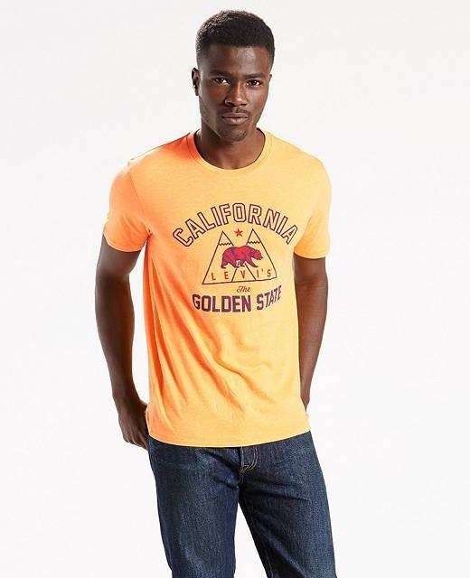 Мужская футболка Levis Graphic Tee - Golden Rod