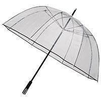 RD2.8120 Зонт трость прозрачный большой чёрный