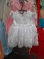 Детское нарядное кружевное платье