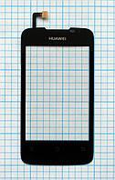 Тачскрин сенсорное стекло для Huawei Ascend Y200 U8655 black