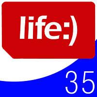 Стартовые пакеты Life 35 лайф звонки интернет 3G для мобильных телефонов планшетов смартфонов