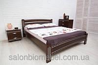 Деревянная Кровать Полуторная Пальмира патина 1,6м