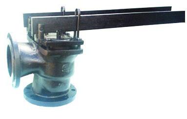 Клапан предохранительный рычажно-грузовой чугунный фланцевый двухрычажный 17ч19бр (нж)