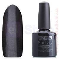 Shellac CND Overtly Onyx (стальной серый)