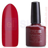 Shellac CND Decadence (спелая вишня эмаль)