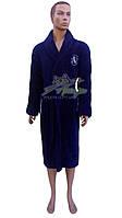 Теплый мужской халат из микрофибры Stass Moda №839