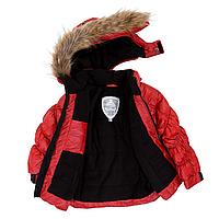Зимняя куртка-пуховик POLYFILL для девочки 7, 12 лет р. 122, 146 ТМ Deux par Deux P 819-762