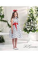 Нарядное платье, болеро и ободок для девочки 3 лет р. 98 ТМ Les Gamins CF503229B