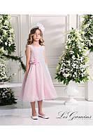 Нарядное платье, болеро и ободок для девочки 3, 6, 8 лет р. 98, 116, 128 ТМ Les Gamins 504402