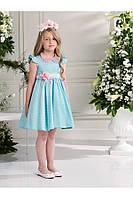 Нарядное платье, болеро и ободок для девочки 3-4 лет р. 98-104 ТМ Les Gamins CF504469B