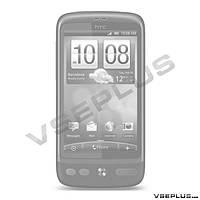 Задняя крышка HTC A8181 Desire G7, черный, high copy