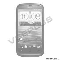 Задняя крышка HTC T328w Desire V, белый, high copy