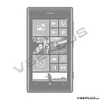 Корпус Nokia Lumia 720, черный, high copy