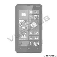 Корпус Nokia Lumia 820, черный, high copy