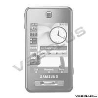 Корпус Samsung F480 Touchwiz, черный, high copy