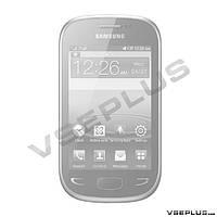 Корпус Samsung S5292 Star Deluxe Duos, черный, high copy