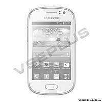 Корпус Samsung S6810 Galaxy Fame, белый, high copy