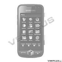 Корпус Samsung S8000 Jet, черный, high copy