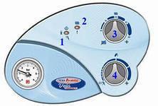 Котел газовый двухконтурный (настенный) Nova Florida Vela Compact CTFS 24 AF (турбированный), фото 2