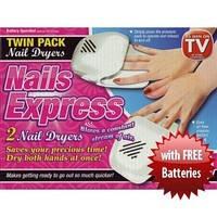 Nail Dryer компактный прибор для сушки лака (на батарейках), Nails Express