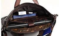 Мужская кожаная сумка.  Модель 425, фото 4