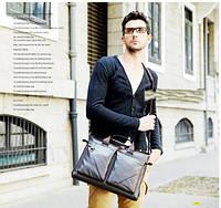 Мужская кожаная сумка. Модель 425, фото 5