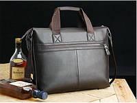 Мужская кожаная сумка. Модель 425, фото 3