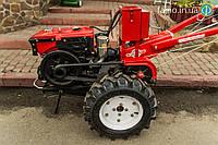 Мотоблок дизельный Победит МБ-81ДЕ (8 л.с., стартер, фреза, плуг), фото 1