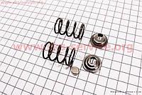 Клапанный механизм к-кт 168F/170F (пружина-2шт, + компенсатор клапана-2шт, + тарелка клапана-2шт)