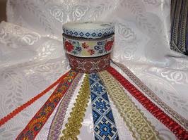 Декоративні тасьми для одягу та домашнього текстилю