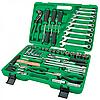Набор инструментов TOPTUL, 80 предметов, GCAI8002