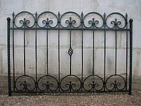 Забор кованый арт.35