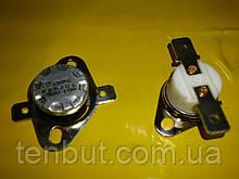 Реостат авто включення-виключення KSD 301 / 130℃ / 250 ст. / 10 / 17 мм. діаметр . Нормально замкнутий .