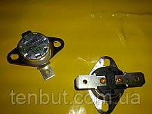Реостат авто включення-виключення KSD 301 / 155℃ / 250 ст. / 10 / 17 мм. діаметр . Нормально замкнутий .