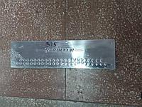 Накладки на пороги Mercedes Sprinter 2007+, хромированные накладки