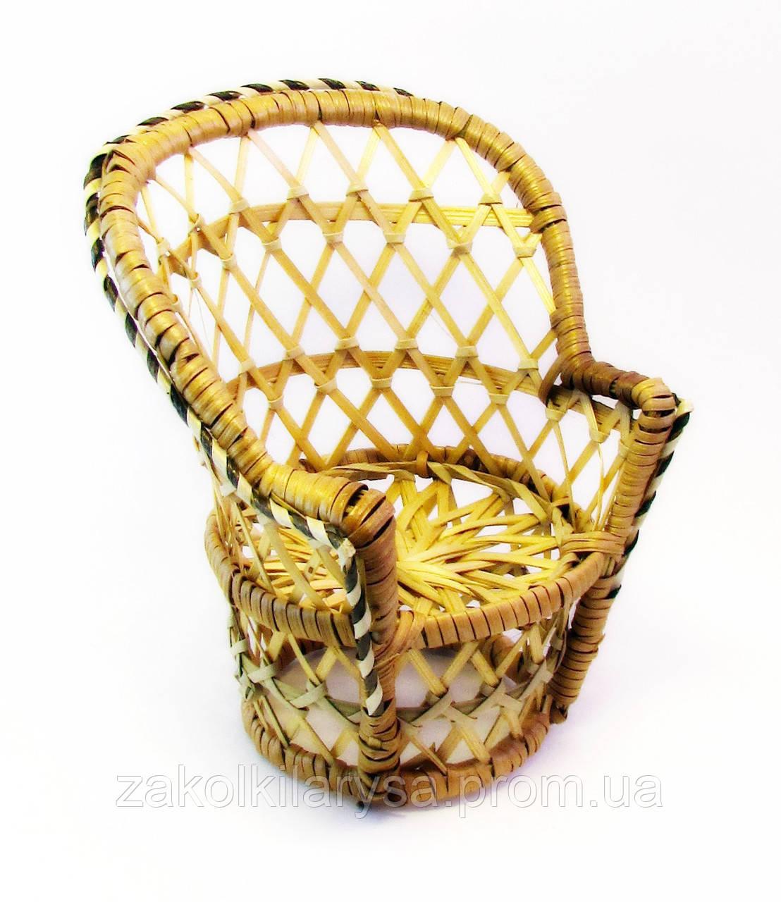 Кресло плетёное-6 шт.- 15,5 см.