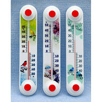 Термометр оконный уличный «Снеговик», «Птички» ТБ-3 исп.11, фото 1