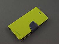 Чехол книжка Goospery для Lenovo K3 A6000 A6010 A6010 pro зеленый