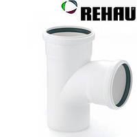 "Тройник  ""Rehau  Raupiano Plus"" DN 125/125  87°  Германия"
