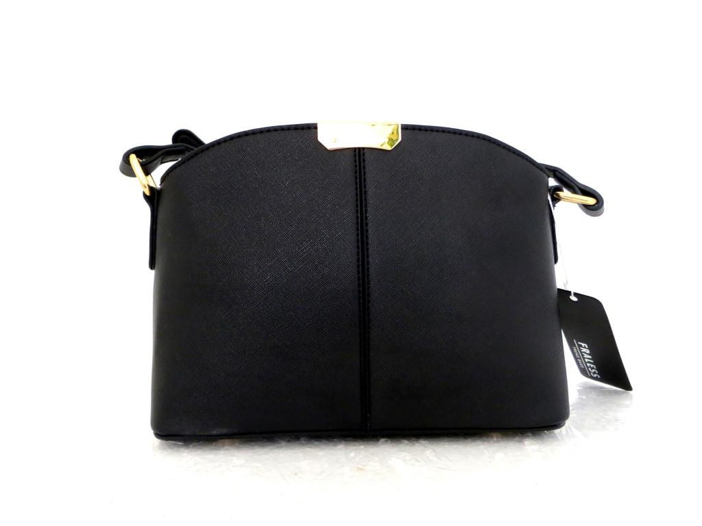 Женская сумка  через плече  Эко-кожа. Черная, фото 1