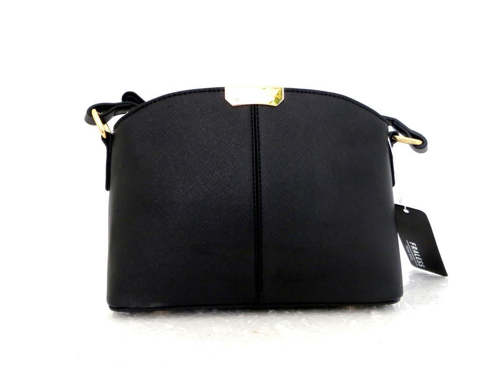 Женская сумка  через плече  Эко-кожа. Черная
