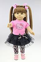 Кукла Дженни, реборн, 45 см, мягконабивная, в подарочной коробке