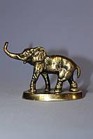 """Статуэтка """"Слон"""" из бронзы на подставке"""